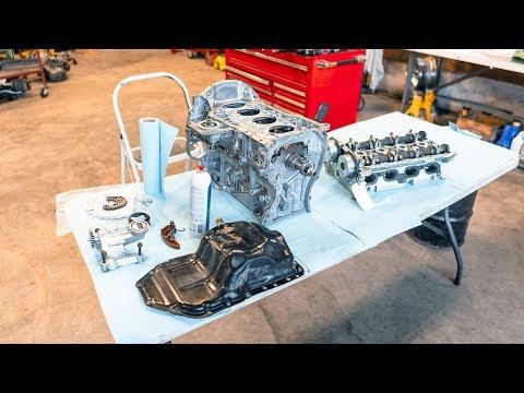 How To Rebuild A Car Engine (4B11T)