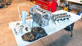 How To Rebuild A Cąr Engine (4B11T)
