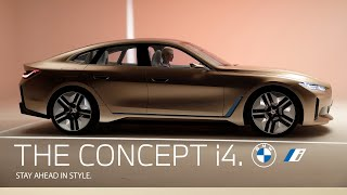 The BMW Concept i4. Stay ahead in style with Cajsa Wessberg.