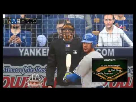 MLB The Show 16: Kansas City Royals vs. New York Yankees in Extra Innings (05/10/16)