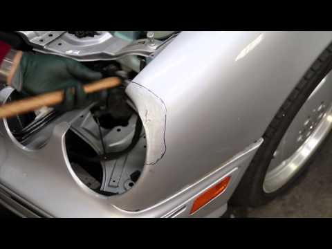 Precision Auto Body Car Dent Repair Hammer and Dolly Techniques