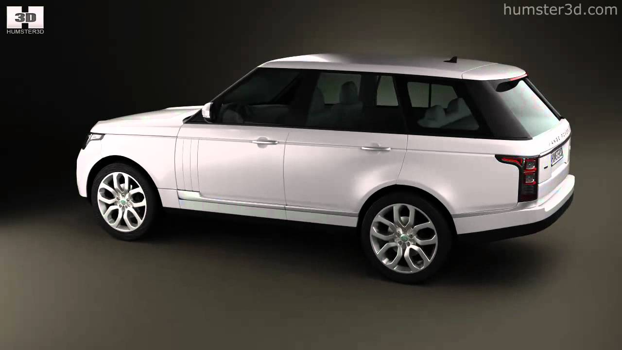 land rover range rover l405 2014 by 3d model store youtube. Black Bedroom Furniture Sets. Home Design Ideas