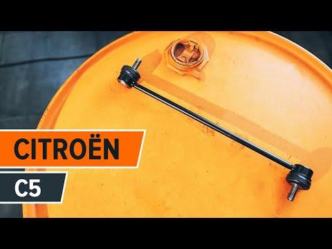 Comment remplacer une Biellette De Barre Stabilisatrice avant sur une CITROËN C5 TUTORIEL | AUTODOC