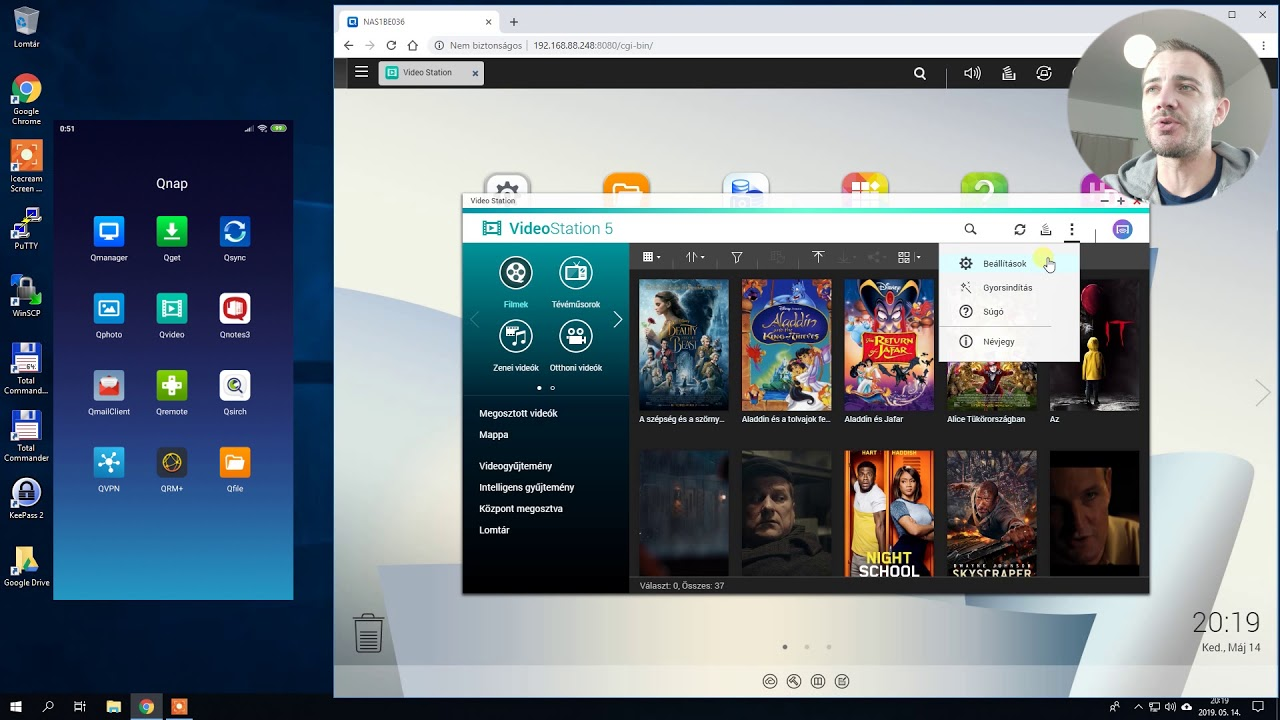 QNAP Video, Music, Photo Station, Media streaming, Plex alkalmazások |  ITFroccs hu