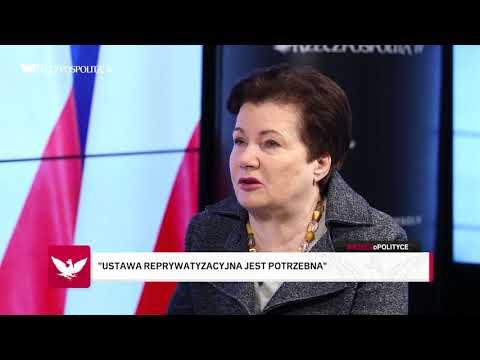 #RZECZoPOLITYCE: Hanna Gronkiewicz-Waltz - Mogą doprowadzić mnie siłą, jak Frasyniuka