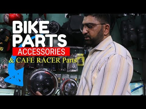Afzal Traders High Quality Bike Modification And Accessories For Cafe Racer
