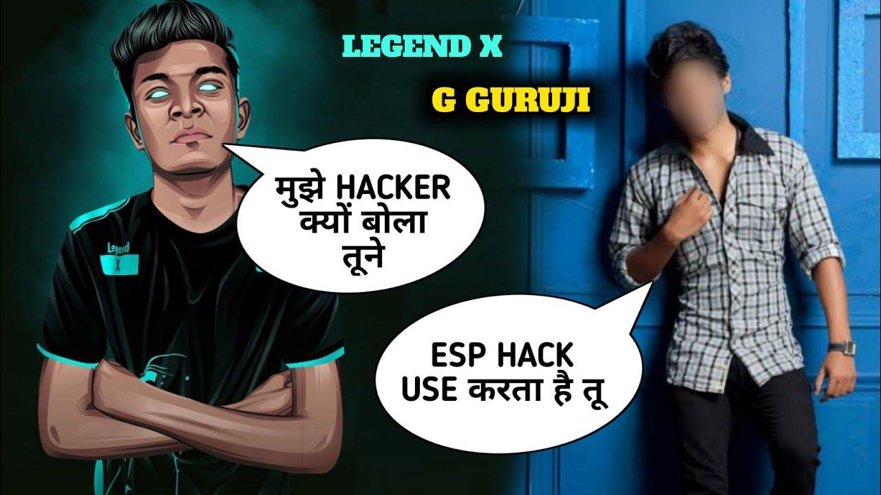Reply - Legend X vs G Guruji Fake Controversy - Friendship Ended - Pubg Mobile Hindi Gameplay