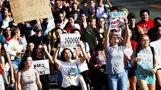 Student Walkout For Gun Control Sweeps Nation