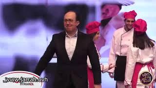 أغنية الأكلات الحلبية في برنامج كاش مع النجوم حلقة 20 - محمد خير جراح