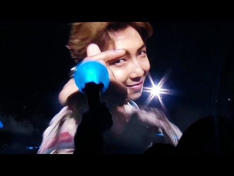 191029 Trivia: Love RM Namjoon @ BTS 방탄소년단 Speak Yourself The Final Day 3 Seoul Concert Live Fancam