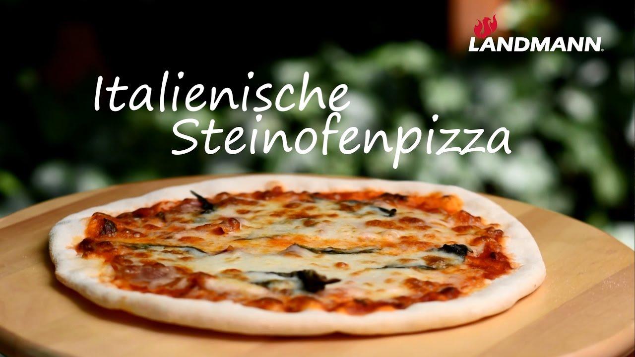 Pizzastein Für Gasgrill Landmann : Landmann italienische steinofenpizza youtube