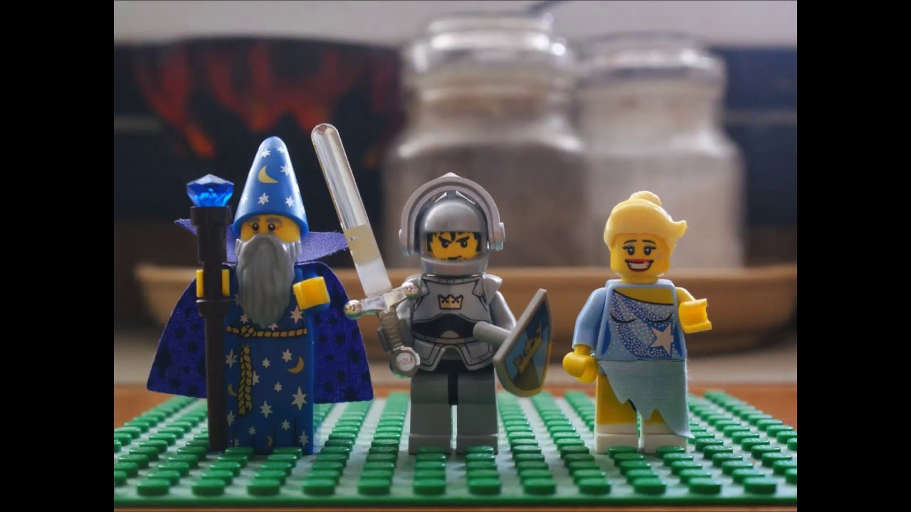 Przygoda Lego - animacja poklatkowa stop motion video