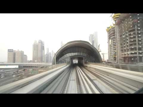 Dubai Metro (World Trade Centre → Mall of the Emirates)