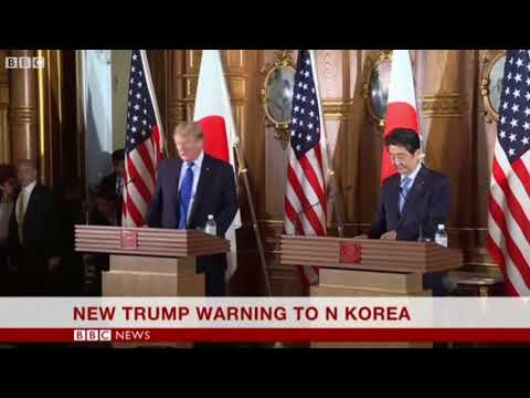 2017 November 06 BBC One Minute World News