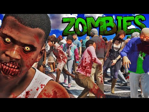 The MOST REALISTIC ZOMBIES in GTA 5 (New) |