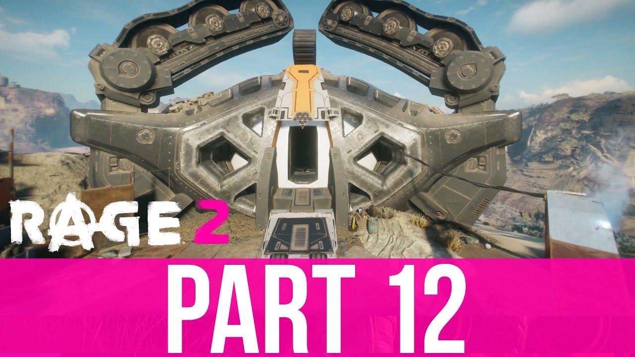 RAGE 2 Gameplay Komplettlösung Teil 12 - ZWEI ARCHEN & ZWEI NEUE WAFFEN (Vollversion) + video