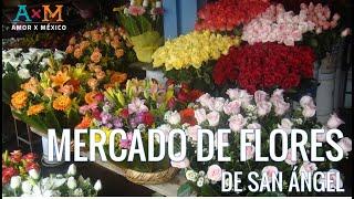 Mercado de Flores en San Ángel - CDMX