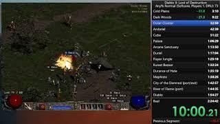 Diablo II - Any% Druid Normal Speedrun (2:21:10)