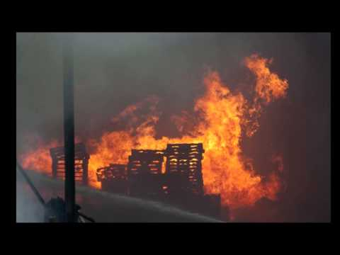 Hear fire chief talk about Ottawa County industrial fire