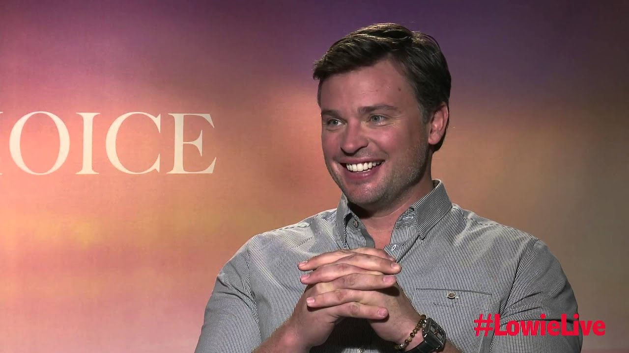 Nicholas Sparks & Tom Welling with Lowie Live ...
