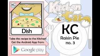 Raisin Pie No. 3 - Kitchen Cat