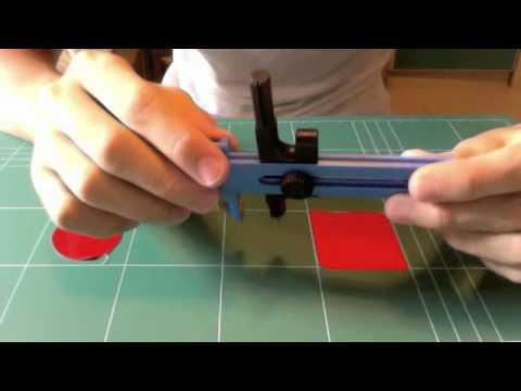 Compass Cutter - cut perfect circles!