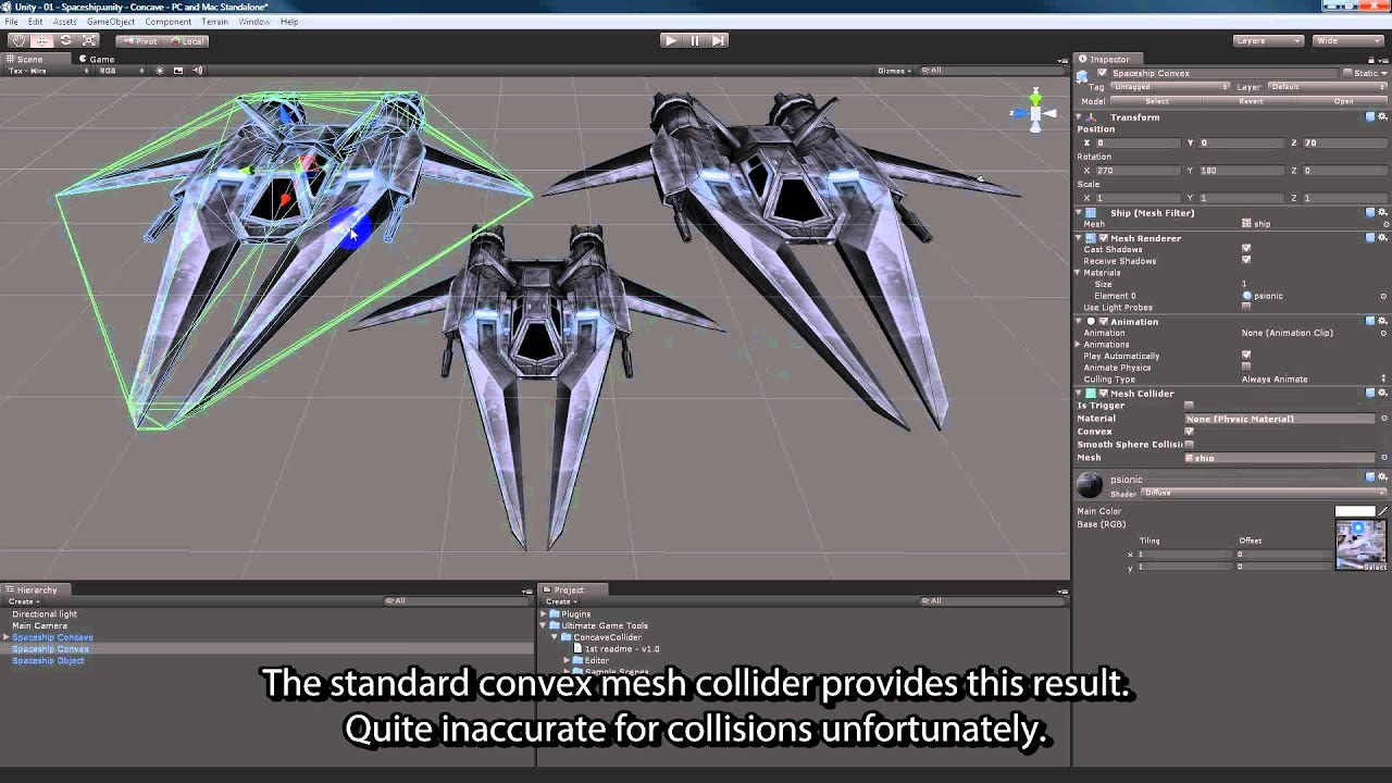Concave Collider for Unity3D
