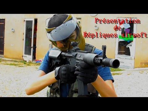 Répliques airsoft ( Mp5 A3 /M4 CQB / M9 Bereta / M24 / Urban Sniper MB-06)