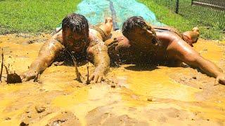 world-s-biggest-slip-n-slide-into-mud-pit