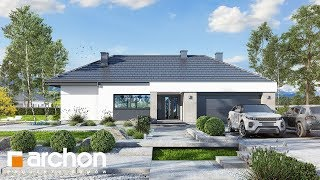 34a58dd5d98a0 Projekt nowoczesnej parterówki Dom w nawłociach 3 G2 obrót 360