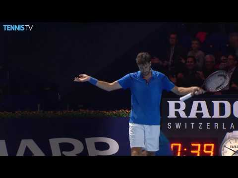 2016 Swiss Indoors Basel: Wednesday Highlights ft. del Potro & Nishikori