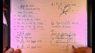 Curvature and T N B vectors