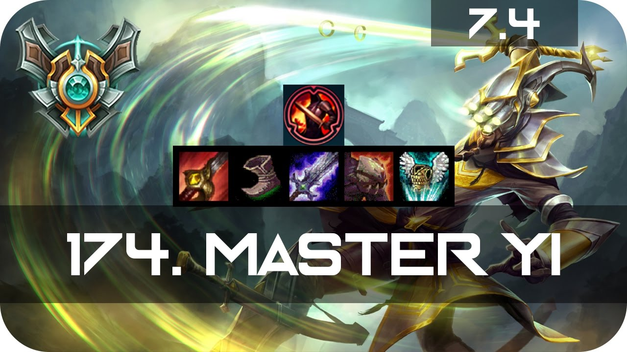 Shaco Build S7: Master Master Yi Jungle Vs Shaco Season 7 S7 Patch 7.4