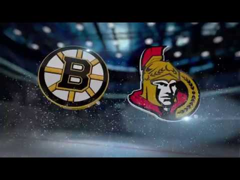 2017-18 Bruins Game 47 Recap vs Senators - 01/25/2018