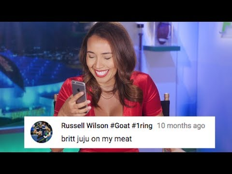 Fumble Fire-Back: Mean YouTube Comments ROUND 2 with Britt Johnson