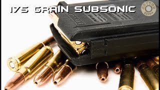 175 Grain Subsonic 277 Wolverine Bullet Test