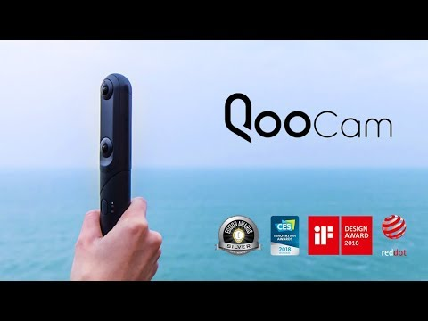 Kandao QooCam, the World's First Switchable 4K 360°& 3D 180° Camera