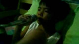 mah lil' bro wants to be a singer.