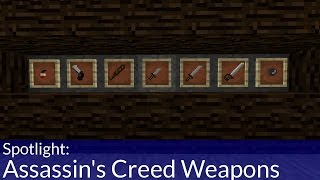 Assassin's Creed Style Weapons Addon for Minecraft PE