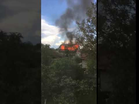 Бліц -Інфо: Пожежа Угорники