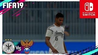 FIFA 19 (Nintendo Switch) Amistoso Internacional - ALEMANIA vs RUSIA