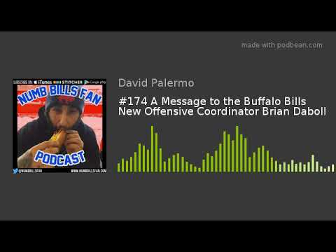 #174 A Message to the Buffalo Bills New Offensive Coordinato