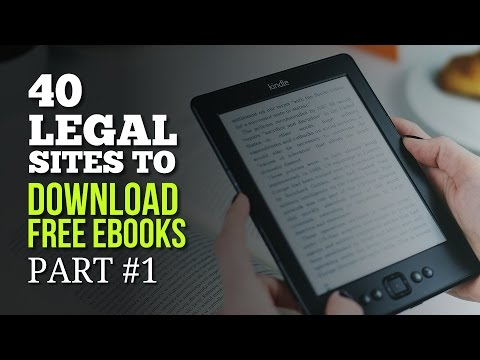 40 Legal Sites to Download Free Ebooks – Part #1
