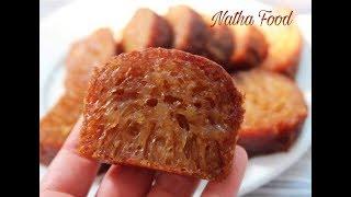 Bánh bò nướng, bí quyết làm bánh bò nướng đường thốt nốt mềm dẻo thơm không khô    Natha Food