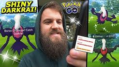 30+ SHINY CHECKS! (SHINY MYTHICAL DARKRAI RAIDS) - Pokemon Go
