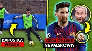 Kapustka WRACA DO GRY! Messi ODDA OPASKĘ Neymarowi? To możliwe!