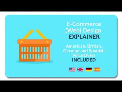 E-Commerce (Web) Design Explainer | After Effects Template