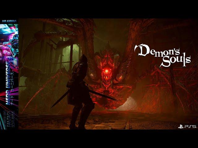 Demons Souls #4 Steinfangkatakomben - Boss Panzerspinne - Flammenschleicher   Gameplay ☬ PS5 Deutsch