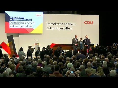 CDU escolhe sucessor de Merkel no fim-de-semana