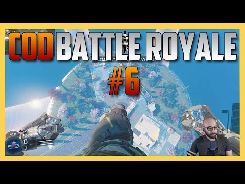 Battle Royale Mod #6 on Nuketown & Terminal!